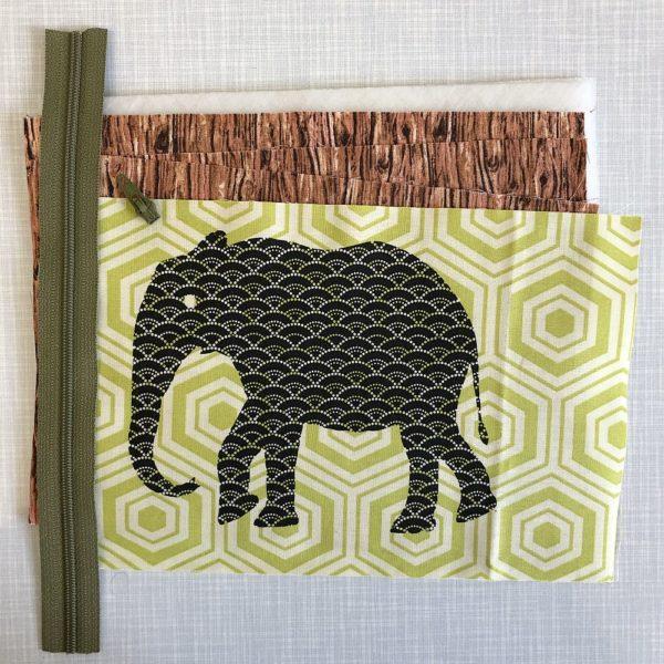 Elefantentäschchen Nähset