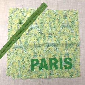 Nähset zum Kissenbezug nähen Paris