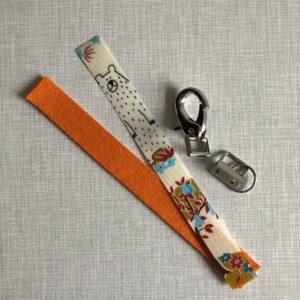 Nähset DIY Schlüsselband Schlüsselanhänger