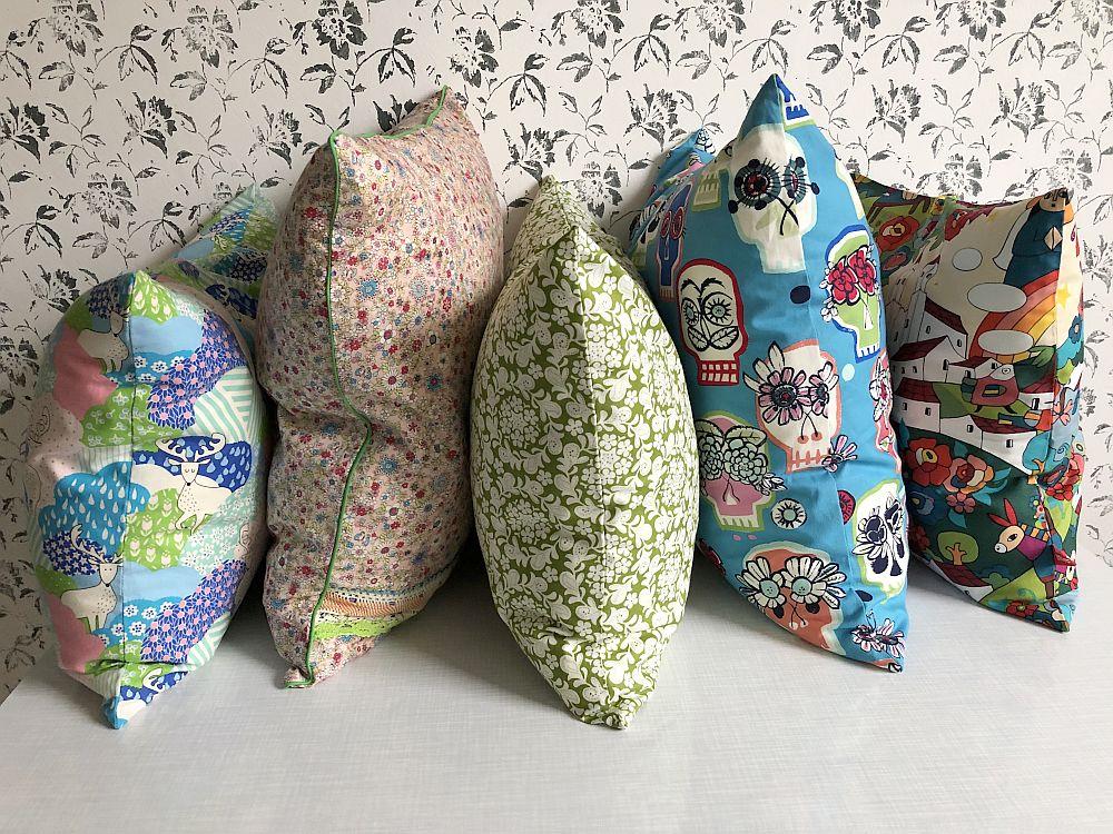 bunte Kissen fürs Sofa, made in Hannover