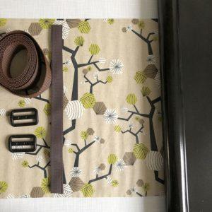 Nähset Planentasche mit kokka-Wachstuch