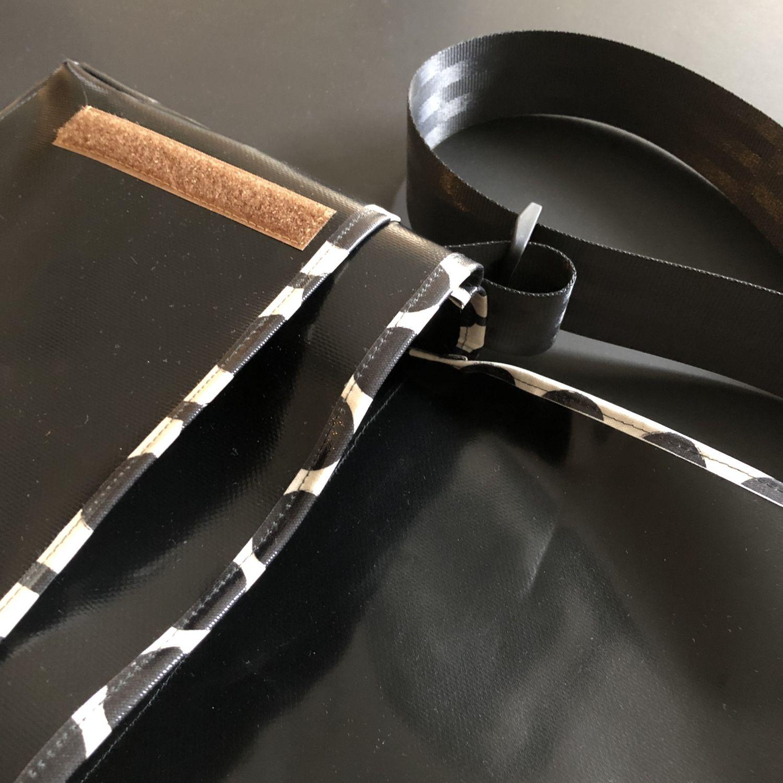 Detail Schnittmuster Tasche aus LKW-Plane