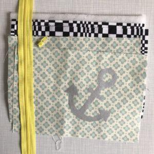 Nähset Materialpaket Zipper-Täschchen