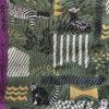 Canvas mit Tieren wie Zebra