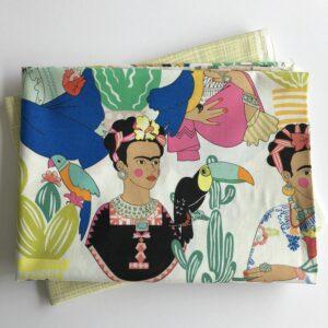 2x 80cm Baumwollstoff Mexikostyle