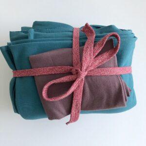 Nähpaket Sweatshirtstoff und Bündchen