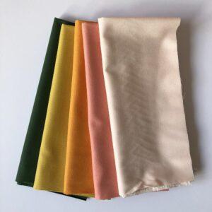 Stoff-Set von kaufman KONA in tollen Farben